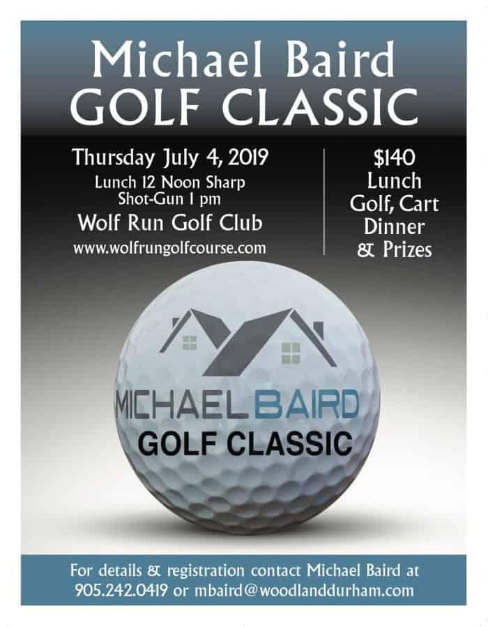 golf flyer ad