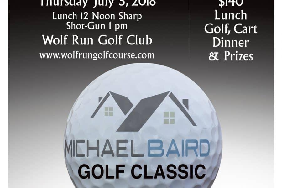 Michael Baird Golf Classic 2018