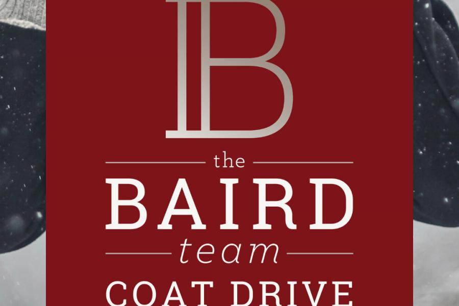 The Baird Team Coat Drive 2019