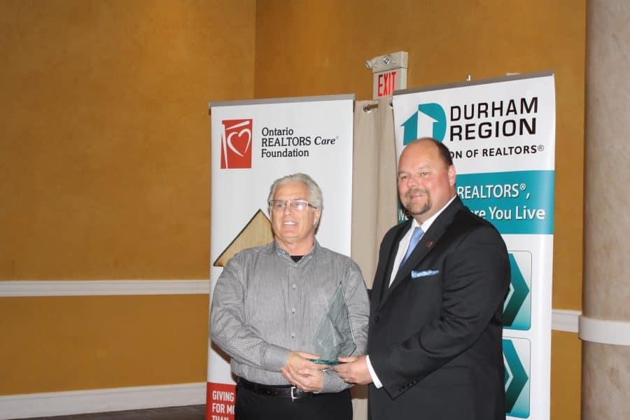 Michael Baird - Community Spirit Award 2017