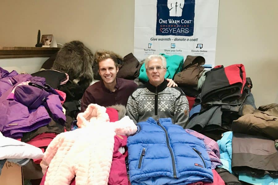 Baird Team Coat Drive Success